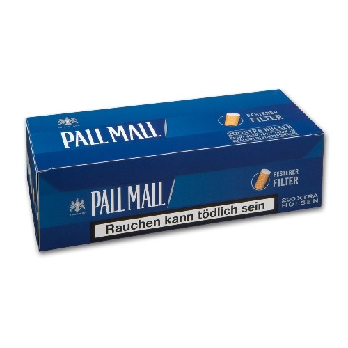 Pall Mall Smooth Taste Xtra Hülsen
