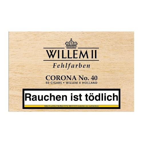 Willem II Corona No. 40 Sumatra