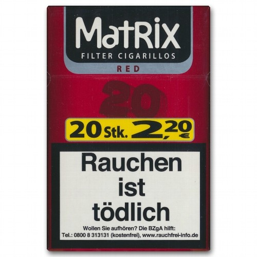 Matrix Filtercigarillos Red