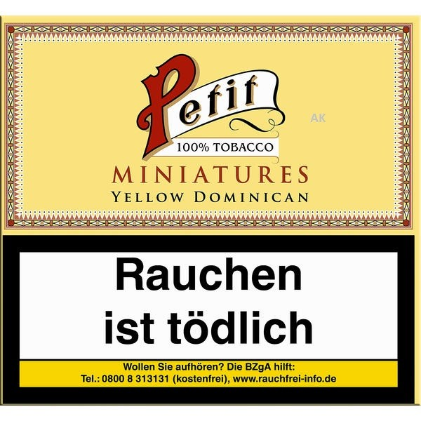 Nobel Petit Minatures Yellow Dominican