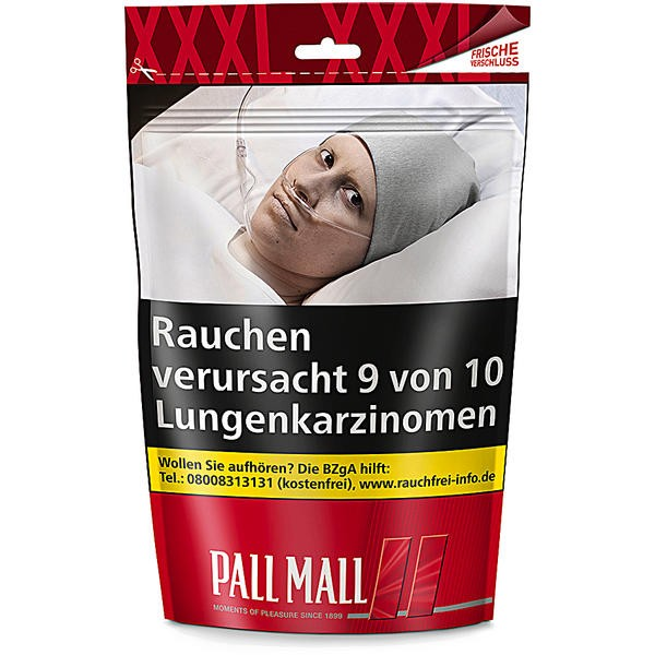 Pall Mall Red Giga Beutel