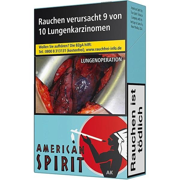 Natural American Spirit Blau L