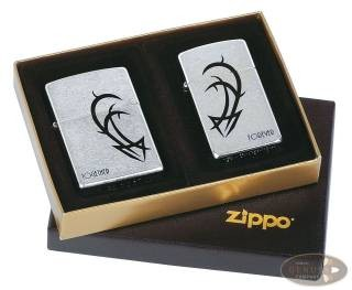 Zippo Combi Street chrom Together/Forever