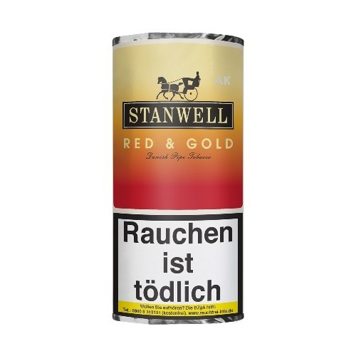 Stanwell Red + Gold