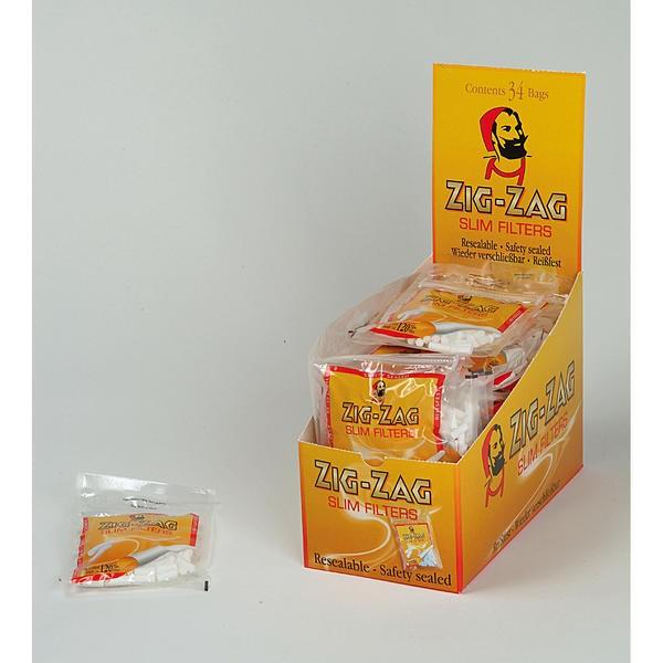 Zig Zag Drehfilter Slim