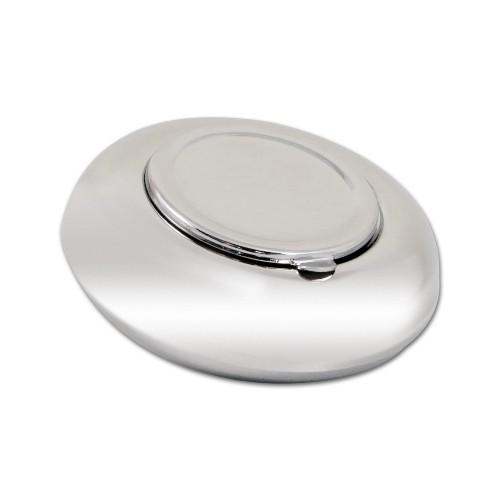 Taschenascher Metall chrom