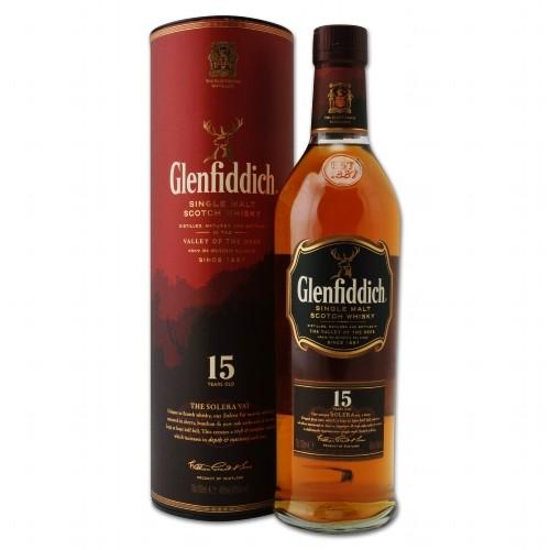 Glenfiddich Solera 15 Jahre 40%