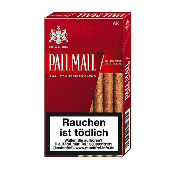 Pall Mall XL Filter Full Flavor
