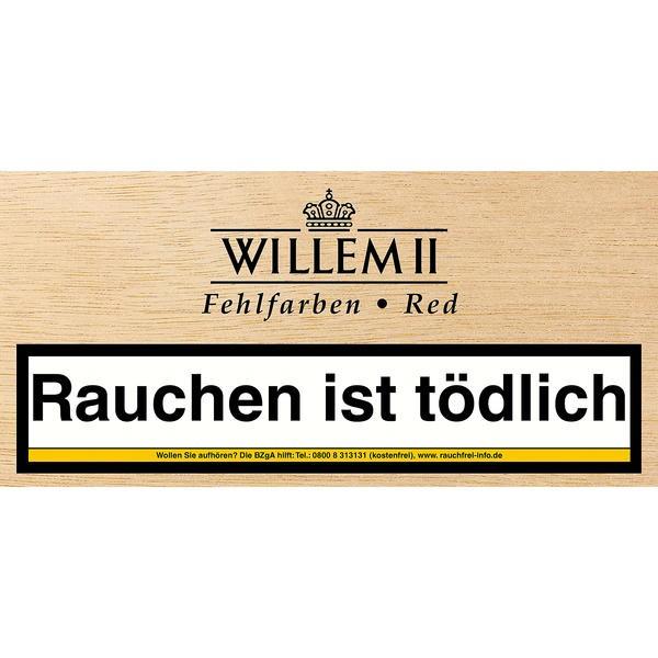 Willem II Fehlfarben Import Red