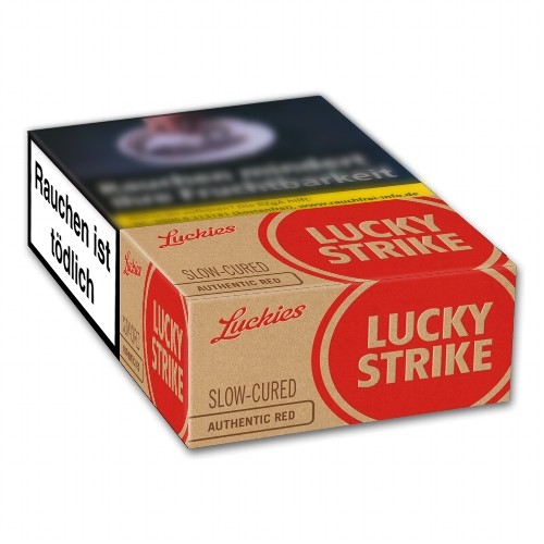 Lucky Strike Authentic Red 7,20 Euro
