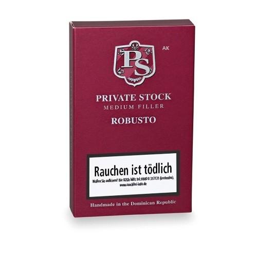 Private Stock Mediumfiller Robusto