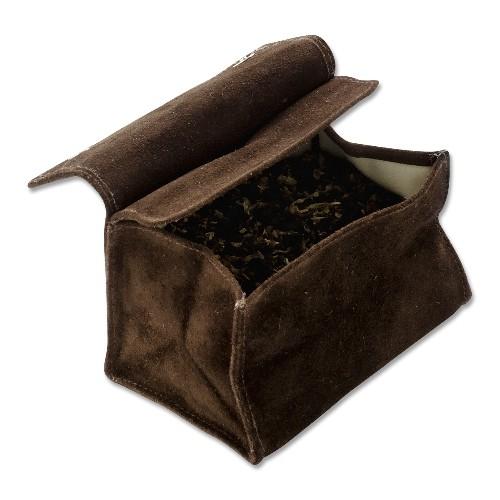Tabak-Stellbeutel Wildleder