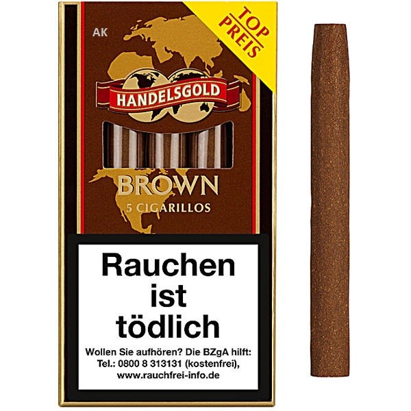 Handelsgold Brown Cigarillos