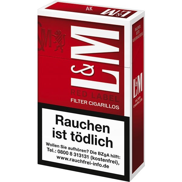 L&M Filter Cigarillos Red