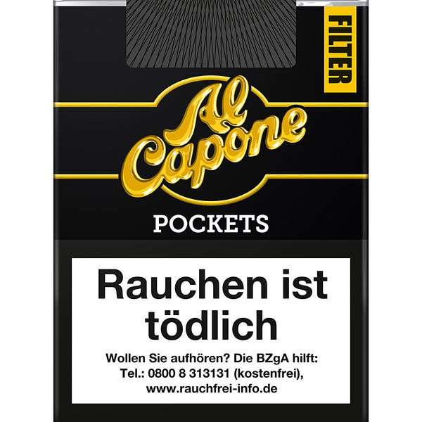 Al Capone Pockets Original mit Filter