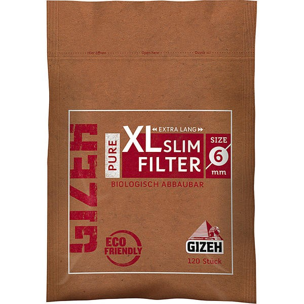 GIZEH Pure Slim Filter