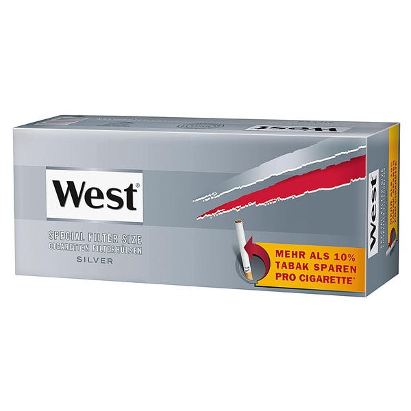 West Special Hülsen Silver