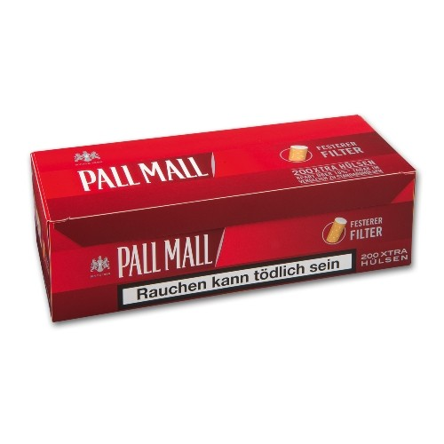 Pall Mall Full Flavor Xtra Hülsen