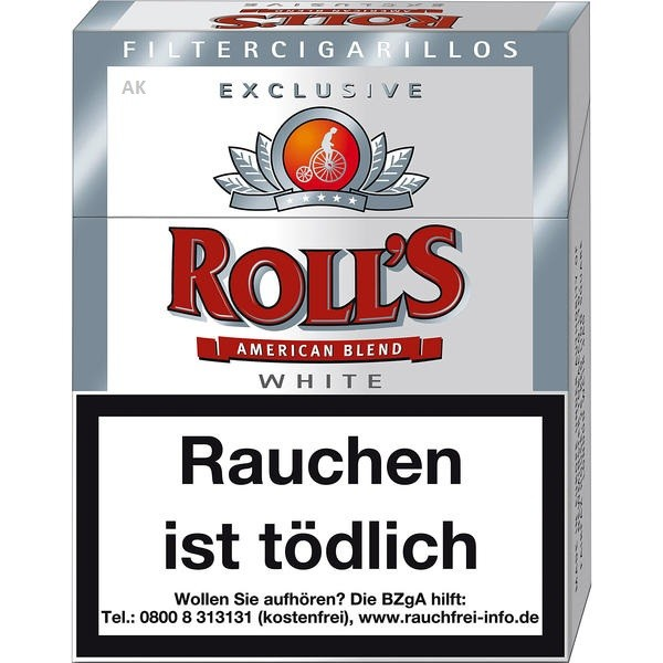 Rolls Exclusive White Naturdeckblatt