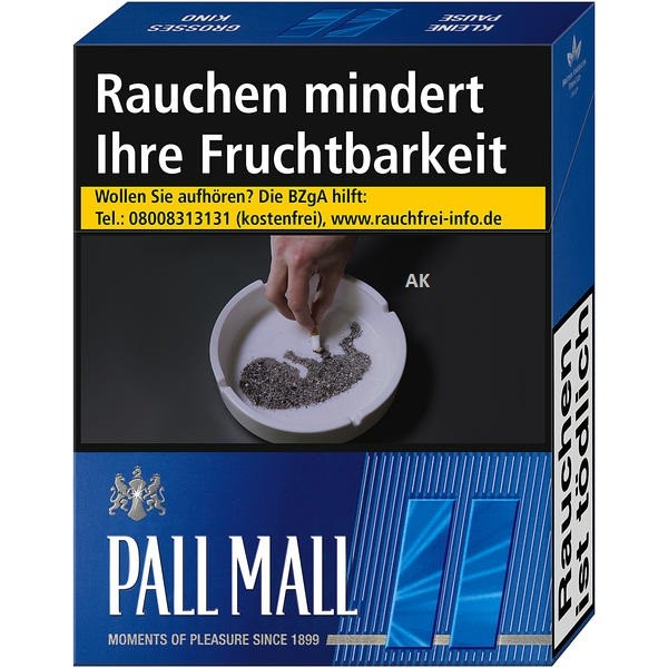 Pall Mall Filter Blue Super