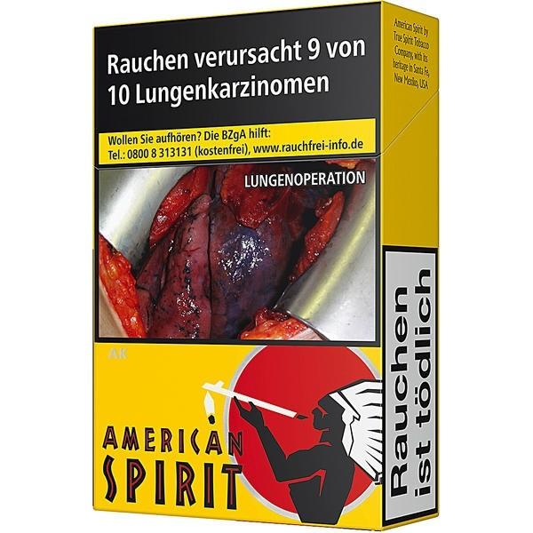 Natural American Spirit Gelb OP