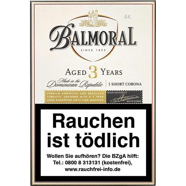 """Balmoral Aged Selection Short Corona """"Aged 3"""