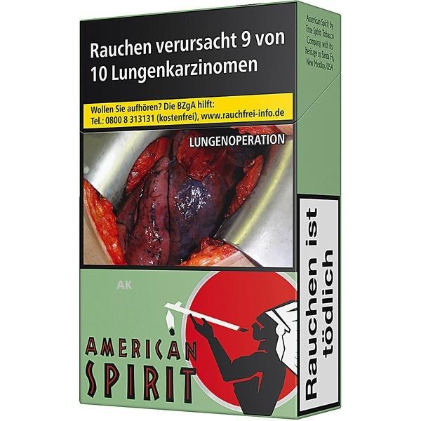 Natural American Spirit Grün OP