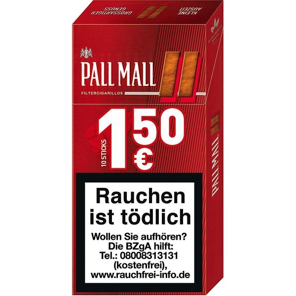 Pall Mall Red King Size Filter