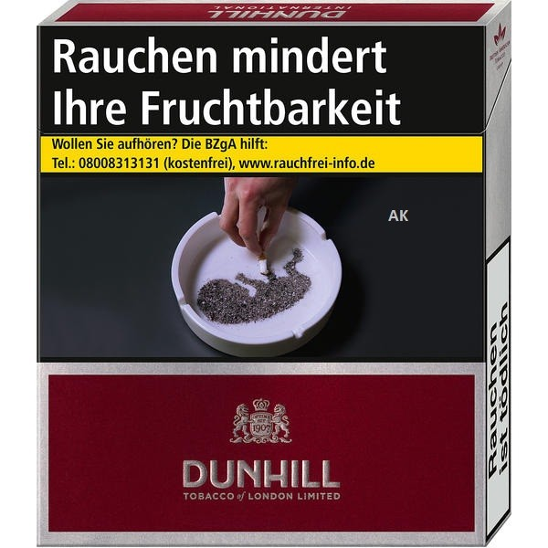 Dunhill International Red