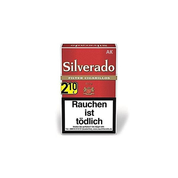 Silverado Red Cigarillos