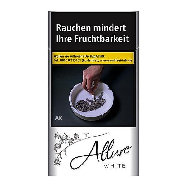 Allure White Super Slim 100