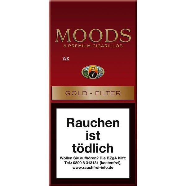 Dannemann Moods Golden Taste Filter