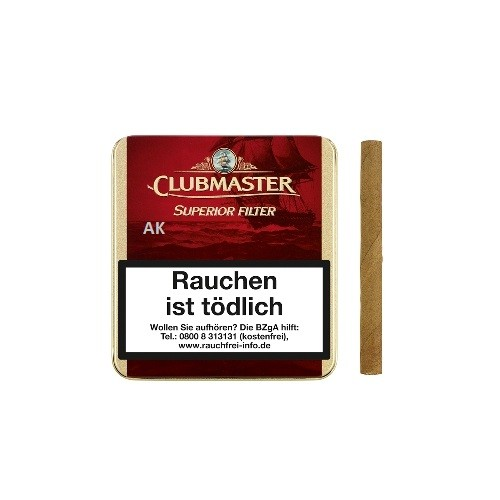 Clubmaster Superior Red Filter