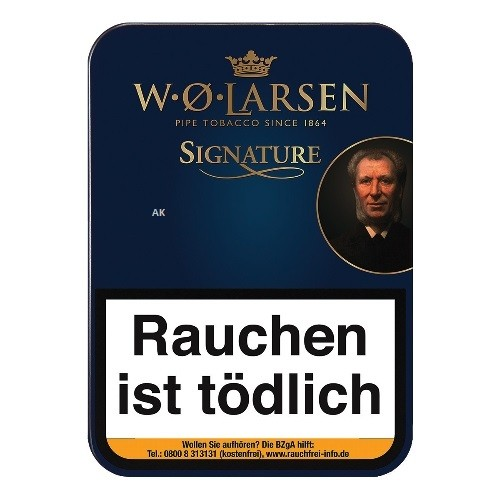 W.O. Larsen`s Signature