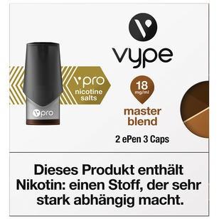 Vype ePen3 Caps vPro Master Blend 18mg