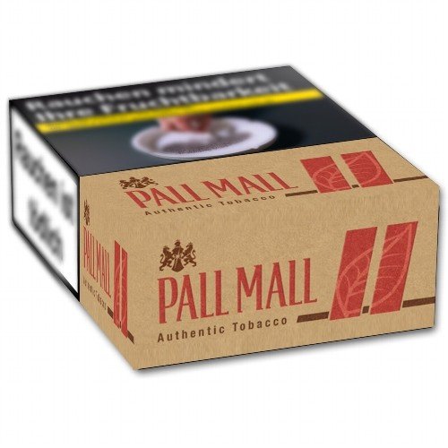 Pall Mall Authentic Red XXL 8,00 Euro