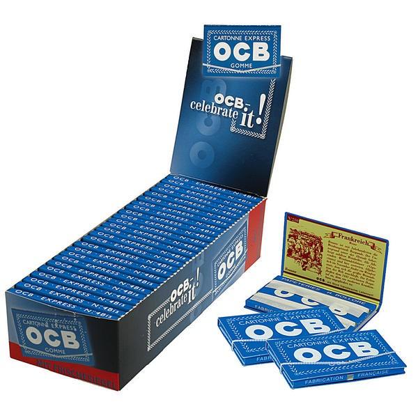OCB Blau Gummizug