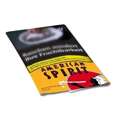 American Spirit Master Blend Gold