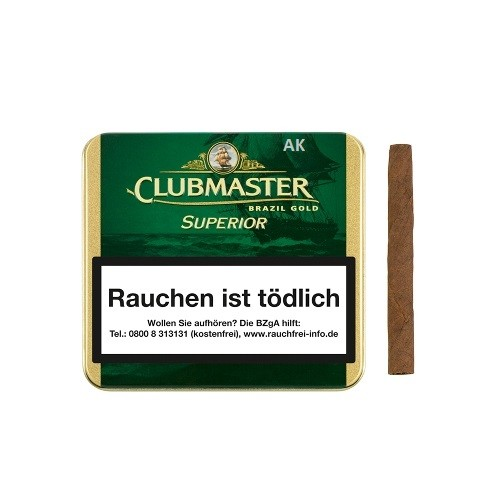 Clubmaster Superior Brazil Gold